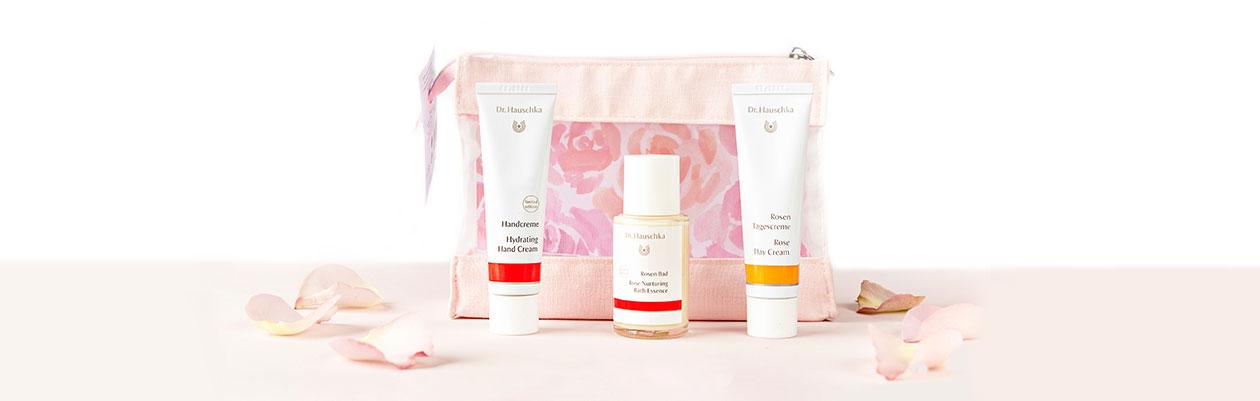 Dr.Hauschka Nurturing Rose Skin Care Kit
