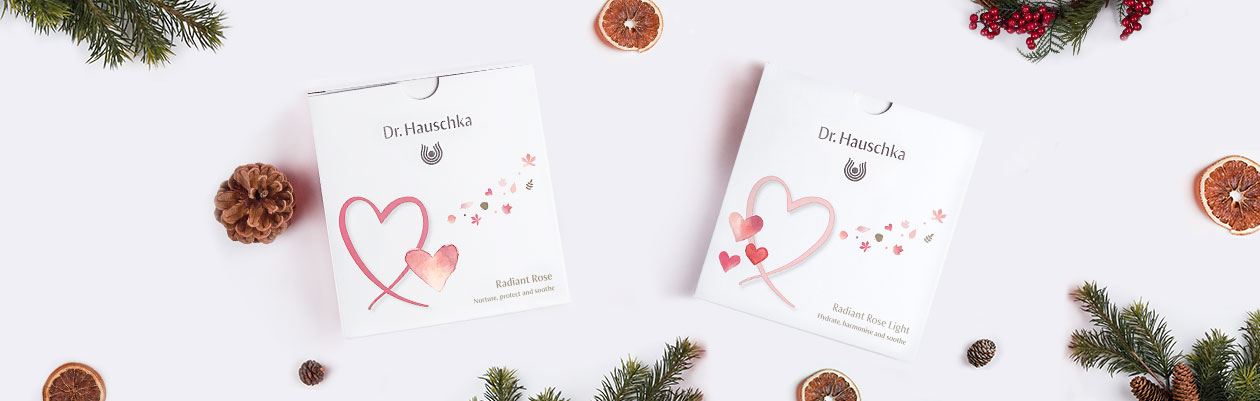 Dr. Hauschka Radiant Rose Christmas Kits