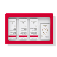 Dr. Hauschka gift set with body oils and organic soap