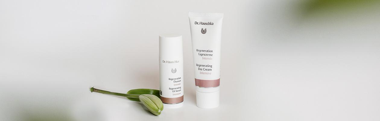 Dr. Hauschka Intensive regenerating range