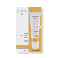 Dr.Hauschka Rose Day Cream Light with free Cleansing Cream